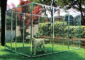 Recinzione Per Cani Giardino.Recinzioni Modulari Per Cani